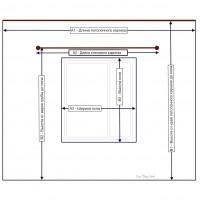 Как сделать замеры окон перед пошивом штор