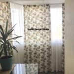 Комплект: шторы и тюль