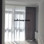 Комплект штор для потолочных карнизов