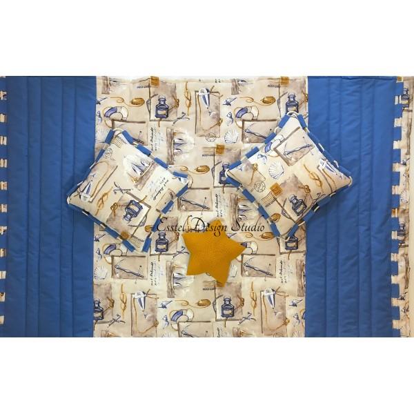 Детский комплект - покрывало и подушки
