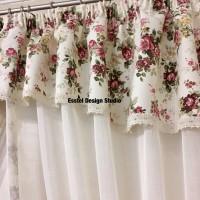 шторы с цветами ирпень