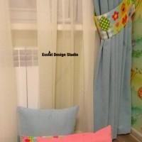 детские шторы и подушки