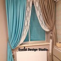 дизайнерские шторы esstel design studio