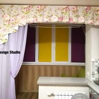 шторы для балкона и кухни