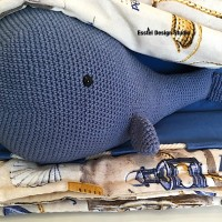 подушка кит