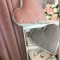 подушки - сердца
