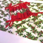 """Набор новогодних салфеток """"Рождественник"""""""