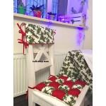 Новогодняя подушка-сидушка
