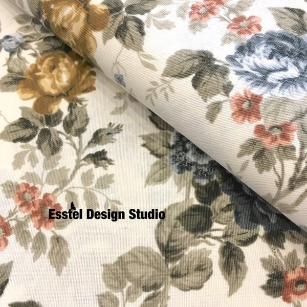 Ткань с цветами для штор